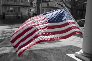 Color Splash Flag